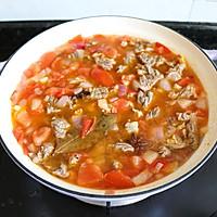 番茄土豆炖牛腩的做法图解9