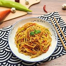 【超快手】麻辣拌三丝#花10分钟,做一道菜!#