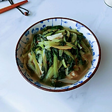 白冻豆腐黑菜汤