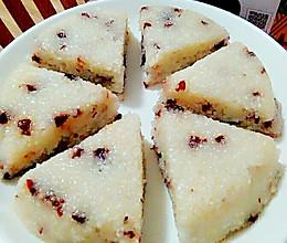 蔓越莓糯米糕的做法