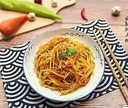 【超快手】麻辣拌三丝#花10分钟,做一道菜!#的做法