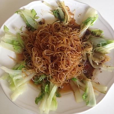 超美味-蒜茸粉蒸大白菜