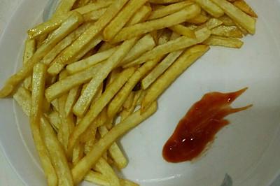 超好吃薯条 媲美KFC