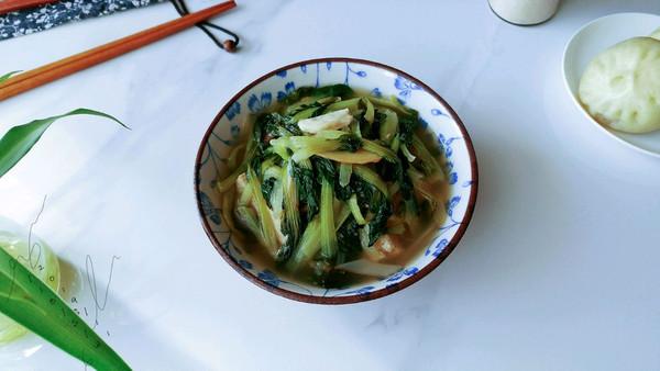 白冻豆腐黑菜汤的做法