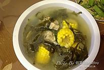冬瓜海带玉米子排汤的做法