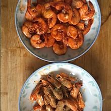 一虾两吃——虾油油焖大虾