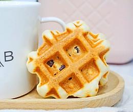 红豆华夫饼#憋在家里吃什么#的做法
