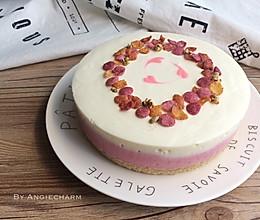 树莓酸奶双层慕斯#盛年锦食·忆年味#的做法