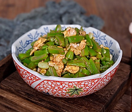 虾酱芸豆的做法