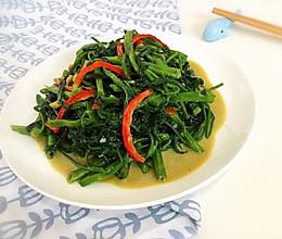 椒丝腐乳空心菜的做法