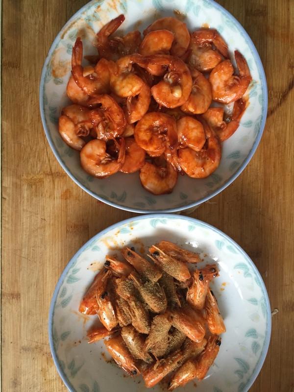 一虾两吃——虾油油焖大虾的做法