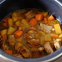 土豆排骨焖饭—周末一个人的快手午餐的做法图解5