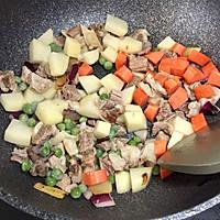 小熊咖喱牛腩饭#奇妙咖喱,拯救萌娃食欲#的做法图解9