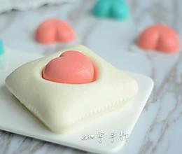 爱心抱枕慕斯蛋糕#单挑夏天#的做法