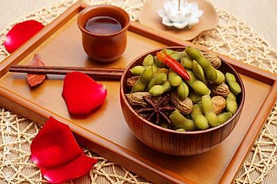 清凉一夏——五香花生毛豆