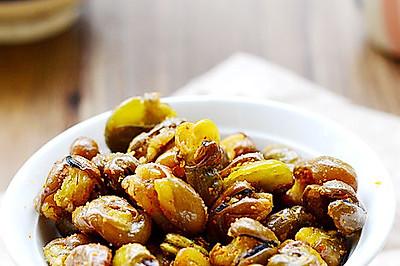 童年里最怀旧的一道小零食——五香脆皮蚕豆