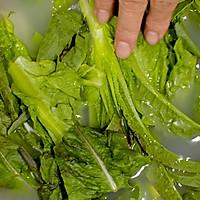 莴笋菜饭 莴笋炒荤素 美食台的做法图解2
