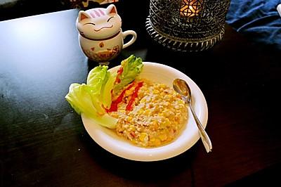 減肥餐 玉米咸麥片