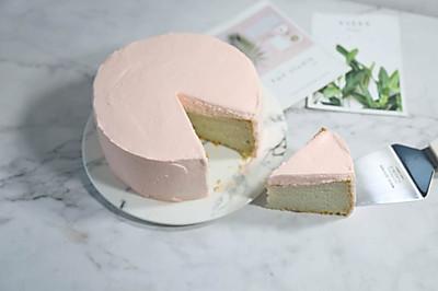 粉粉的芋头蛋糕