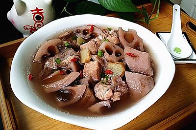 猪尾骨炖莲藕#每道菜都是一台食光机#