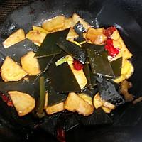 土豆烧海带的做法图解8