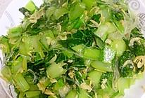 虾皮炒小白菜的做法