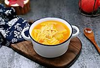 #《风味人间》美食复刻大挑战#酸甜开胃~番茄金针菇冬瓜汤的做法