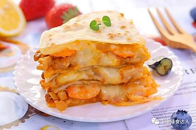 芝士虾馅饼 宝宝辅食食谱