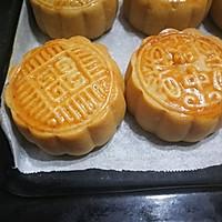 """广式莲蓉&豆沙蛋黄月饼#享""""美""""味#的做法图解19"""