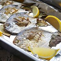 #和盒马一起去出海#之香烤孜然鲳鱼