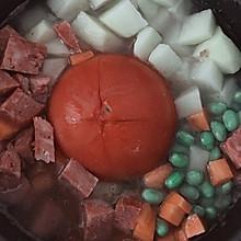 西红柿懒人饭网红饭抖音饭