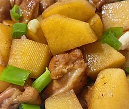 #一勺葱伴侣,成就招牌美味#家常菜-土豆炖鸡的做法