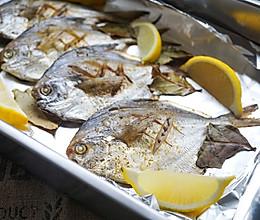 #和盒马一起去出海#之香烤孜然鲳鱼的做法