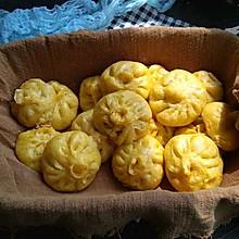 #一道菜表白豆果美食#南瓜小笼包