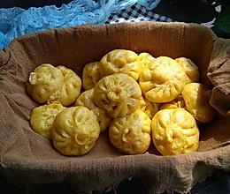 #一道菜表白豆果美食#南瓜小笼包的做法