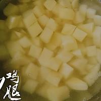 三丁炒鸡腿#金龙鱼外婆乡小榨菜籽油 最强家乡菜#的做法图解7