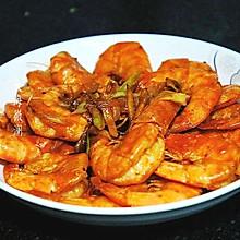 #餐桌上的春日限定#葱姜炒大虾