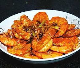 #餐桌上的春日限定#葱姜炒大虾的做法