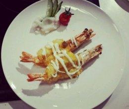 意式虾排的做法