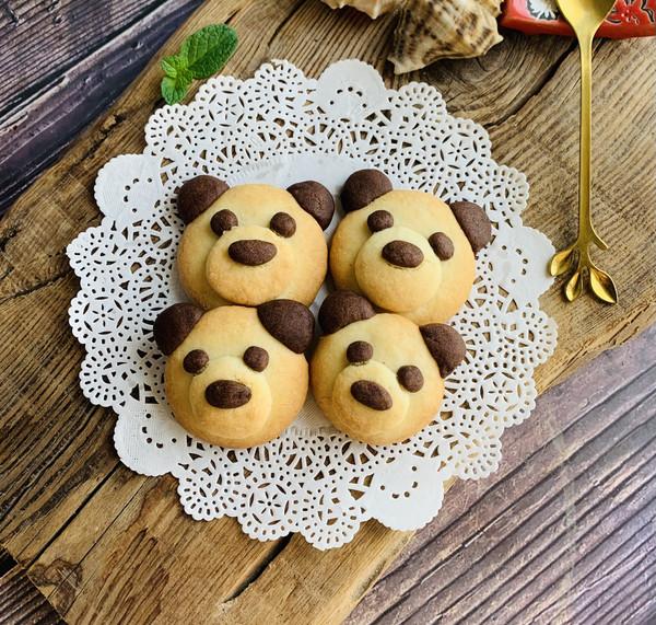 可爱熊饼干
