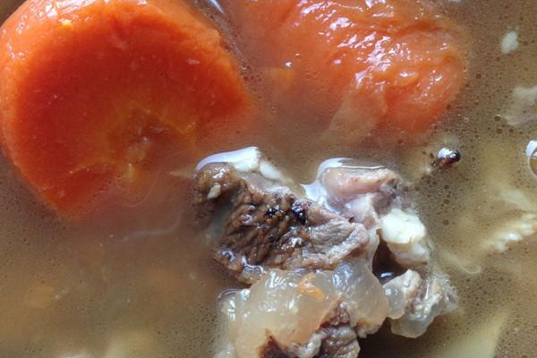冬日温补羊肉汤的做法