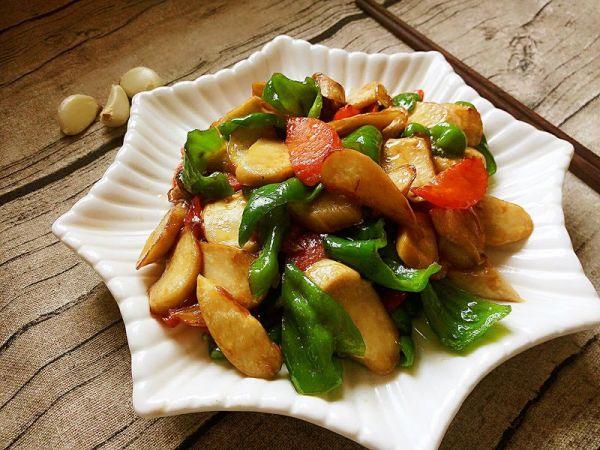 蚝油杏鲍菇的做法