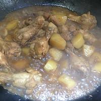 土豆烧鸡翅根的做法图解10