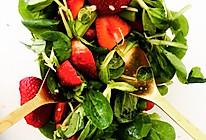 芦笋草莓沙拉的做法