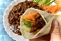京酱肉丝,媲美饭店(附饼皮教程)的做法