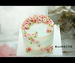 韩式裱花蛋糕教程 五瓣花裱花蛋糕教程的做法