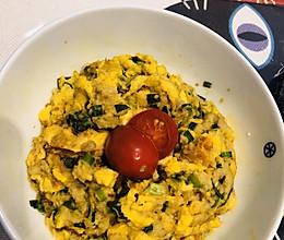 素餐花样吃法~豆渣鸡蛋花的做法