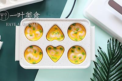 虾仁毛豆煎蛋