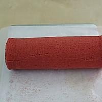 红丝绒蛋糕卷#约会MOF#的做法图解7