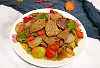 #全电厨王料理挑战赛热力开战!#爆炒猪肝的做法